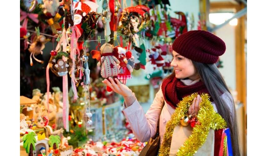 Visita los mercados navideños sin ampollas en los pies